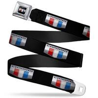 Camaro Six Badge Full Color Black Silver Red White Blue Camaro Six Badge Seatbelt Belt
