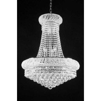 swarovski crystal lighting. Swarovski Crystal Trimmed French Empire Lighting H24x W32 Swarovski Crystal Lighting