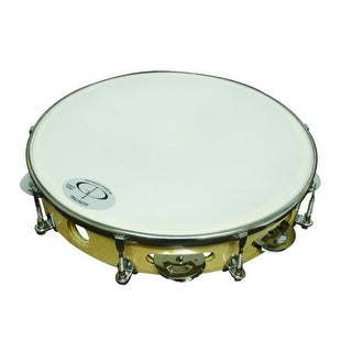 GP Percussion Professional Tunable Tambourine