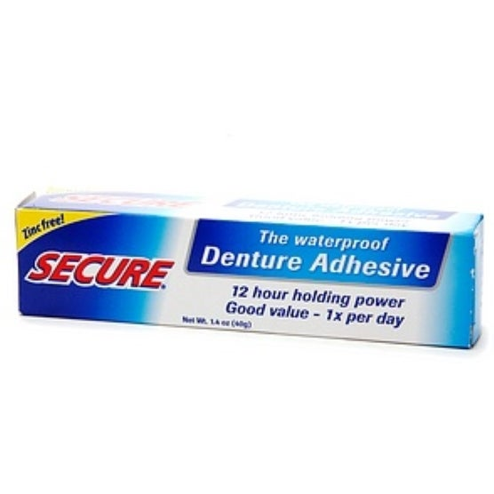 Secure Denture Adhesive 1.4 oz