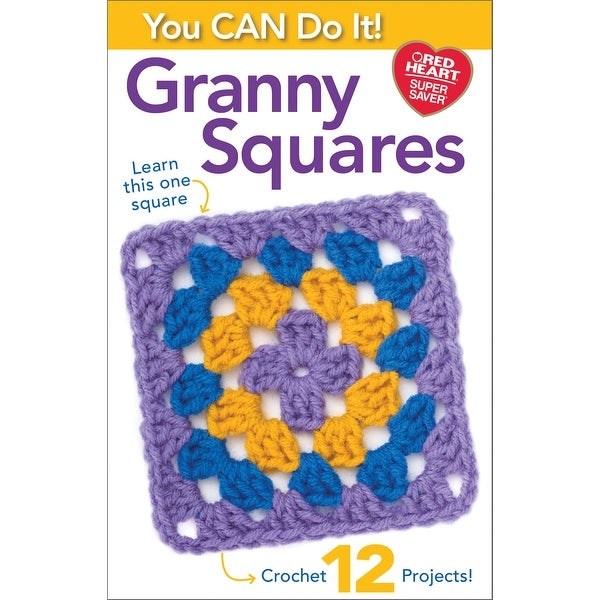 Coats & Clark-You Can Do It Granny Squares