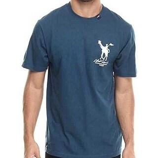 LRG Derby T-Shirt (X-Large, Navy) - Navy - X-LARGE