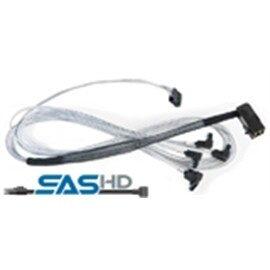 Adaptec Cable 2279900-R 8m Mini Serial Attached SCSI HD SFF-8643/SFF-8448 Brown Box