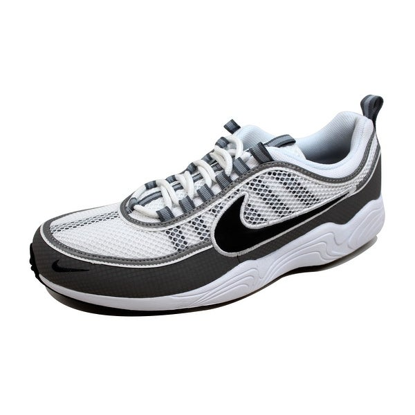 Nike Men's Air Zoom Spiridon White/Black-Light Ash 849776-101
