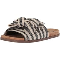 Circus by Sam Edelman Womens ninette Fabric Open Toe Casual Slide Sandals