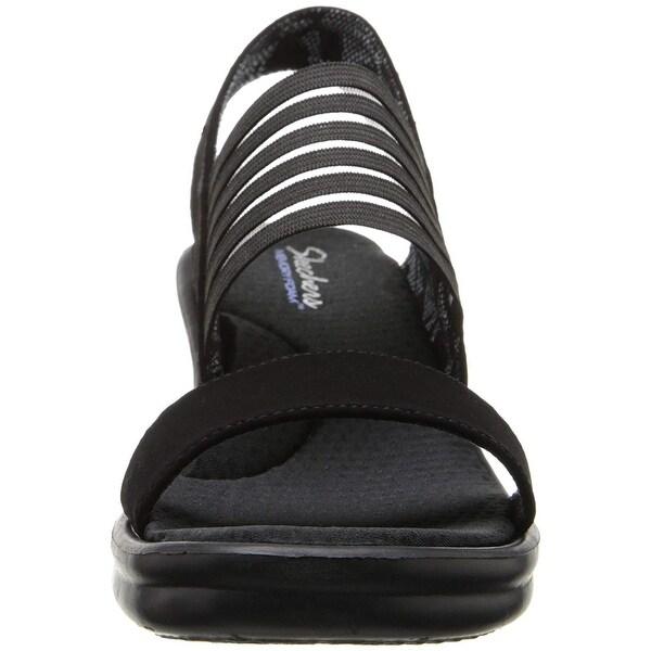 Shop Skechers Cali Women's Rumblers Sci Fi Wedge Sandal