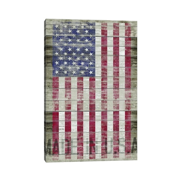 """iCanvas """"American Flag II"""" by Diego Tirigall Canvas Print. Opens flyout."""
