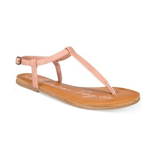 American Rag Womens KRISTA Split Toe Casual T-Strap Sandals (2 options available)