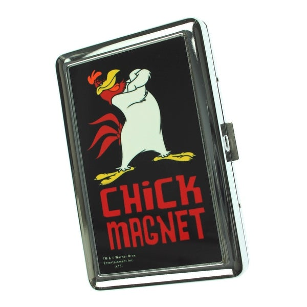 Looney Tunes - Foghorn Leghorn CHICK MAGNET Business Card Holder - One Size Fits most