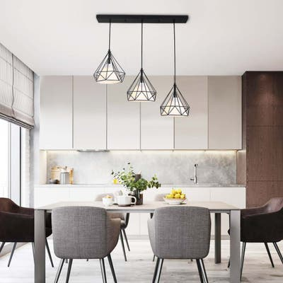 3 - Light Modern Metal Geometrical Pendant