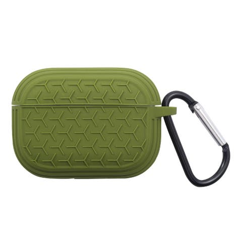 For Apple AirPods Pro Green Skin Textured Case Cover