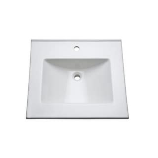 "Mirabelle MIRT25221 25"" Vitreous China Vanity Top"