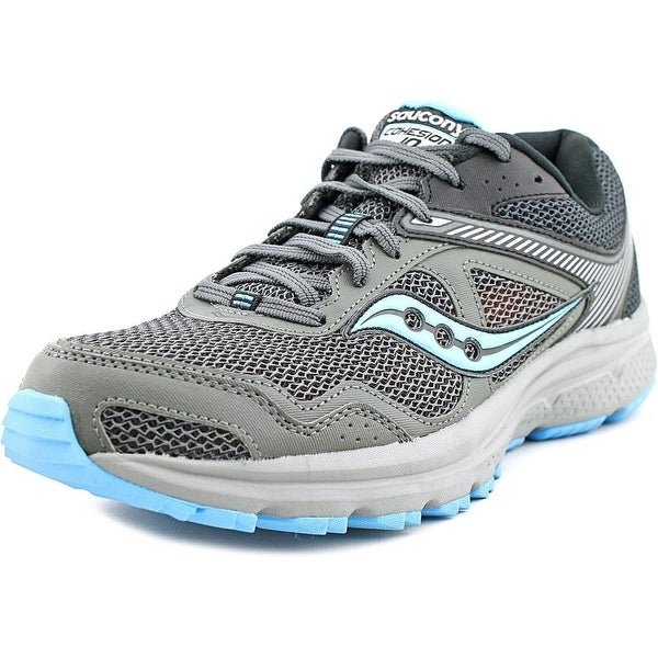Saucony Cohesion Tr10 Plush Women Gry/Blk/Blu Running Shoes