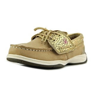 Sperry Top Sider Intrepid Crib Jr. Moc Toe Leather Boat Shoe