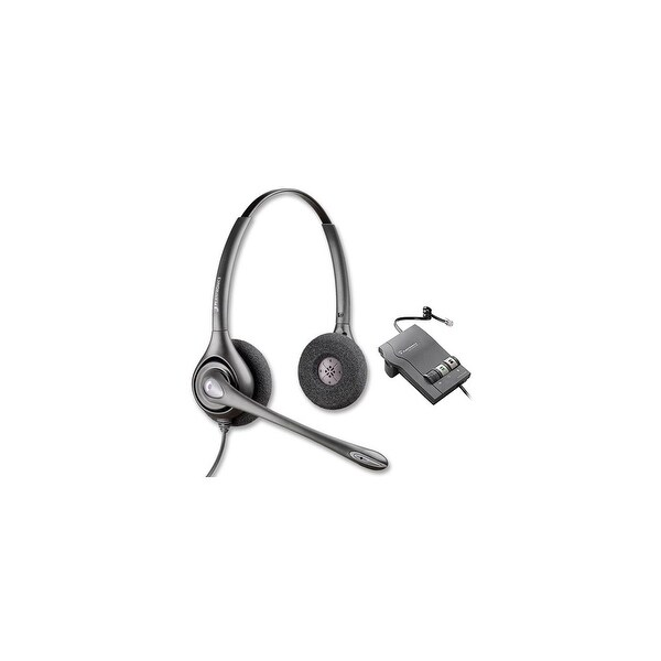 Plantronics SupraPlus HW261N with M22 Amplifier Dual Earpiece Wideband Headset