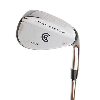 New Cleveland 588 DSG Chrome Wedge 56* RH w/ Uniflex Steel Shaft