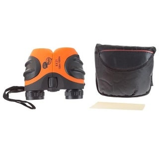 Hey Play M330042 8 x 21 mm Kids Binoculars with Case & Carrying Strap