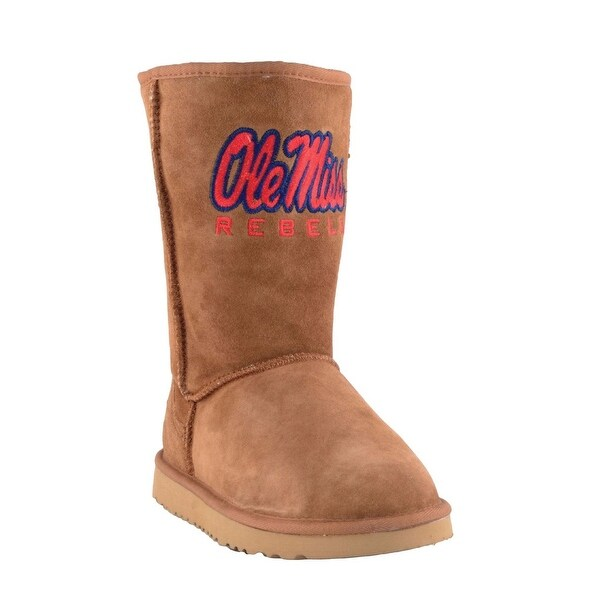 Gameday Boots Womens University Mississippi Roadie Hickory MS-RL1048-1