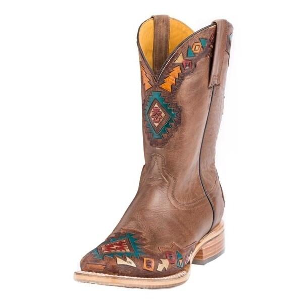 Tin Haul Western Boots Womens Sunka Wakan Tan
