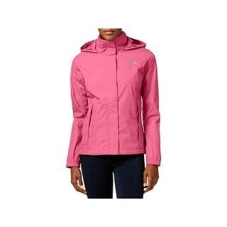 The North Face Womens Resolve Raincoat Hooded Dry Vent