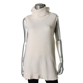 Elie Tahari Womens Cashmere Zipper Pullover Sweater