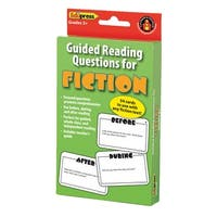 Guided Reading Question Cards Fiction