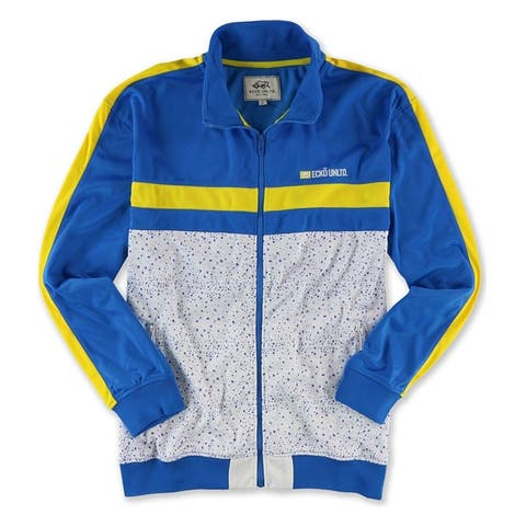 Ecko Unltd. Mens Poly Tricot Track Jacket