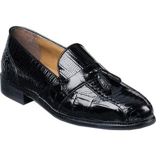 Stacy Adams Men's Alberto 23059 Black Snake/Croco Print/Lizard Print Leather