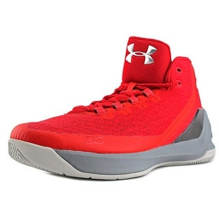 Under Armour Curry 3 Round Toe Synthetic Sneakers