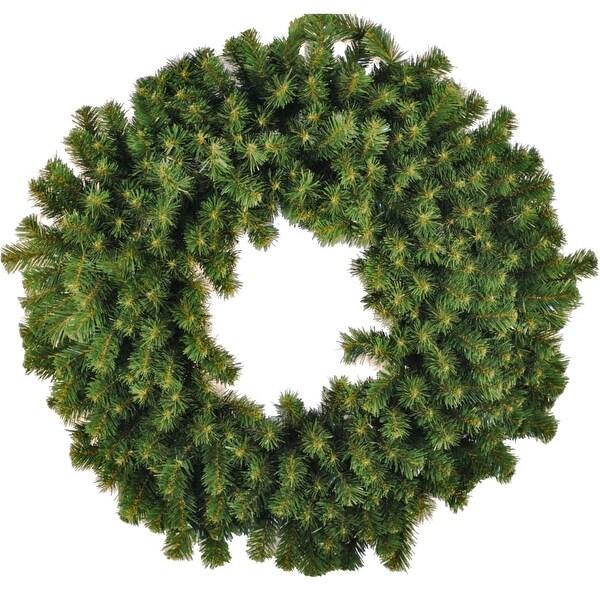 Christmas at Winterland WL-GWSQ-03 3 Foot Sequoia Wreath - green - N/A