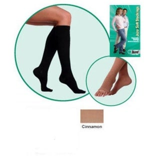 II Soft Open Toe Knee High Short 20-30 mmHg with Silicone Border -
