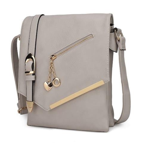 MKF Collection Jasmine Crossbody Shoulder Bag by Mia K.