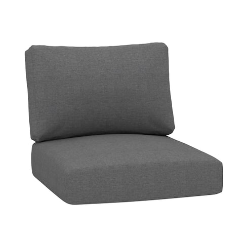 Outdoor Deep Seating Patio 24x24 Inches Replacement Cushions