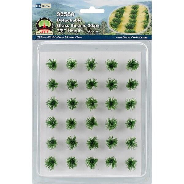 """Detachable Grass Bushes .375"""" 30/Pkg-"""