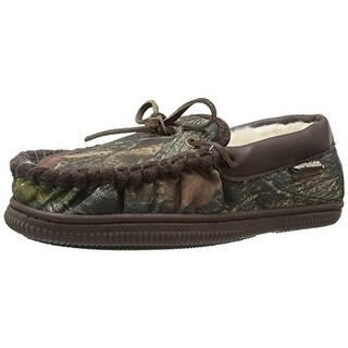 Northside Mens Norwood Moccasin Camo Slippers