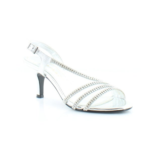 Caparros Bethany Women's Sandals Silver - 6