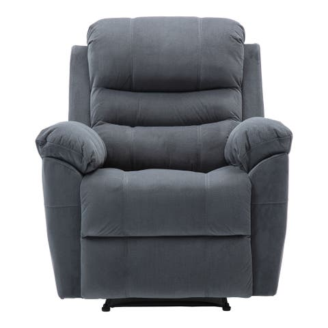 Velvet Fabric Power Reclining Chair