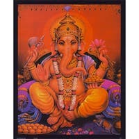 ''Ganesha'' by Anon Religious Art Print (20 x 16 in.)