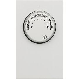Lux LV21-005 Non-Programmable Double Pole Line voltage Thermostat