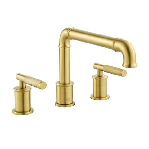 Avallon 8 in. Widespread, Sleek Handle, Bathroom Faucet