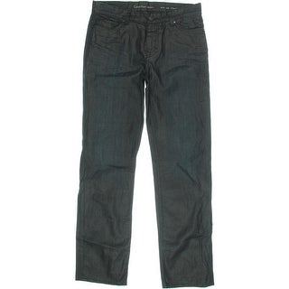 Calvin Klein Jeans Mens Straight Leg Denim Jeans - 32/32