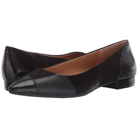 Jessica Simpson Women's Shoes Lamara Almond Toe Ballet Flats