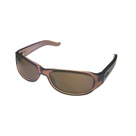 Angel Womens Sunglass Firestar Crystal Brown Plastic Wrap, Brown Lens - Medium
