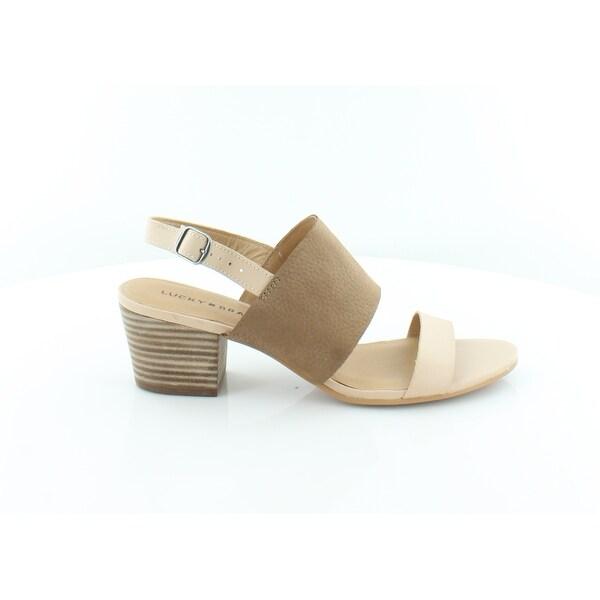 Lucky Brand Gewel Women's Sandals & Flip Flops Bisque
