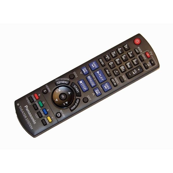 OEM Panasonic Remote Control Originally Shipped With: SCBT230, SC-BT230, SCBT730, SC-BT730, SABT730, SA-BT730