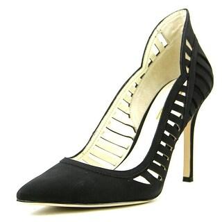 BCBGeneration Tillie Women Pointed Toe Leather Black Heels