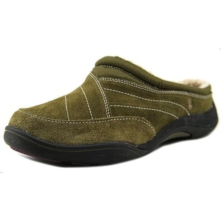 Grasshoppers Prospect Clog N/S Round Toe Suede Mules