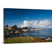 Premium Thick-Wrap Canvas entitled Coastline, Monterey Bay, Monterey, California
