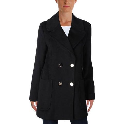 Eliza J Womens Pea Coat Winter Wool