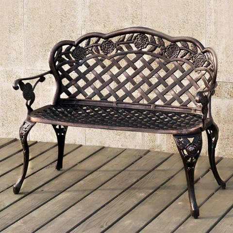 Aluminum Outdoor Loveseats Garden Bench